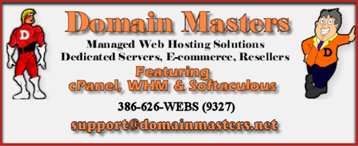 DomainMasters.NET Complete Web Hosting Solutions